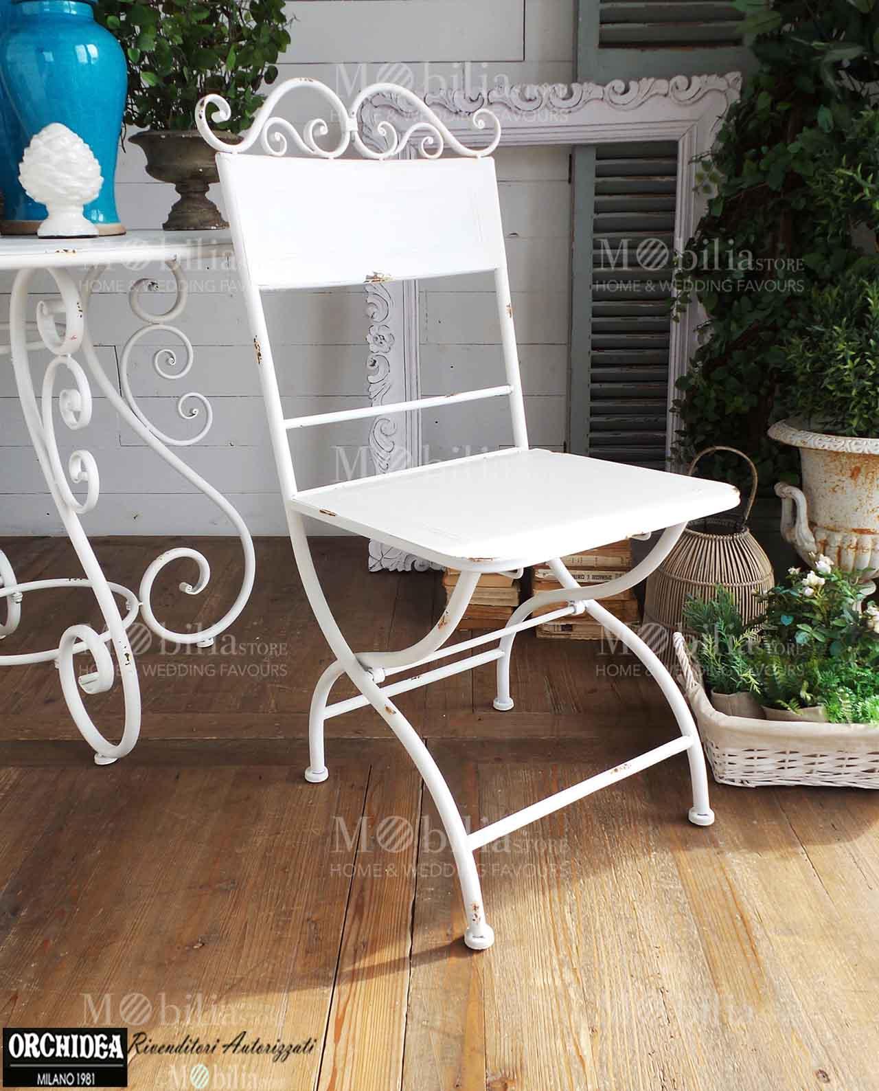 sedie pieghevoli mobilia store home favours