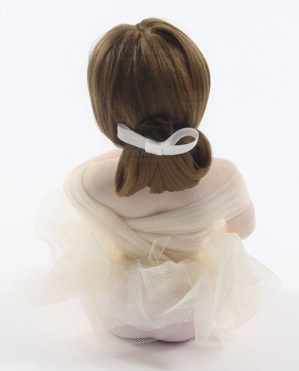 Ballerine Bomboniere per Cresima e Comunione Tutù Panna Sedute