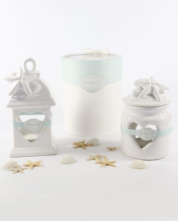 Matrimonio Tema Lanterne : Lanterne bomboniere originali capodimonte tema mare rdm design