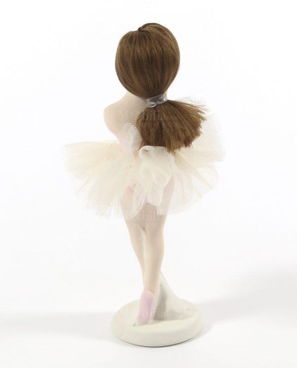 ballerina da appoggio con tutù panna rdm design