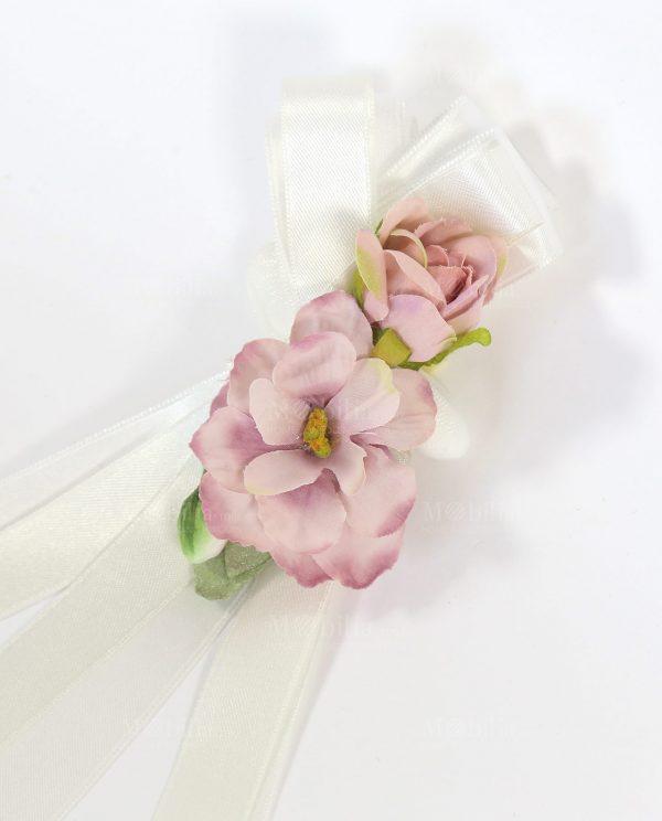 Segnaposto con Confetti e Magnolie Rosa Rdm Design