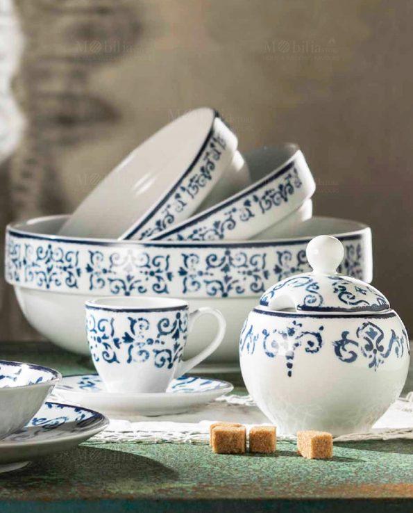 collezione antico blu fade maison