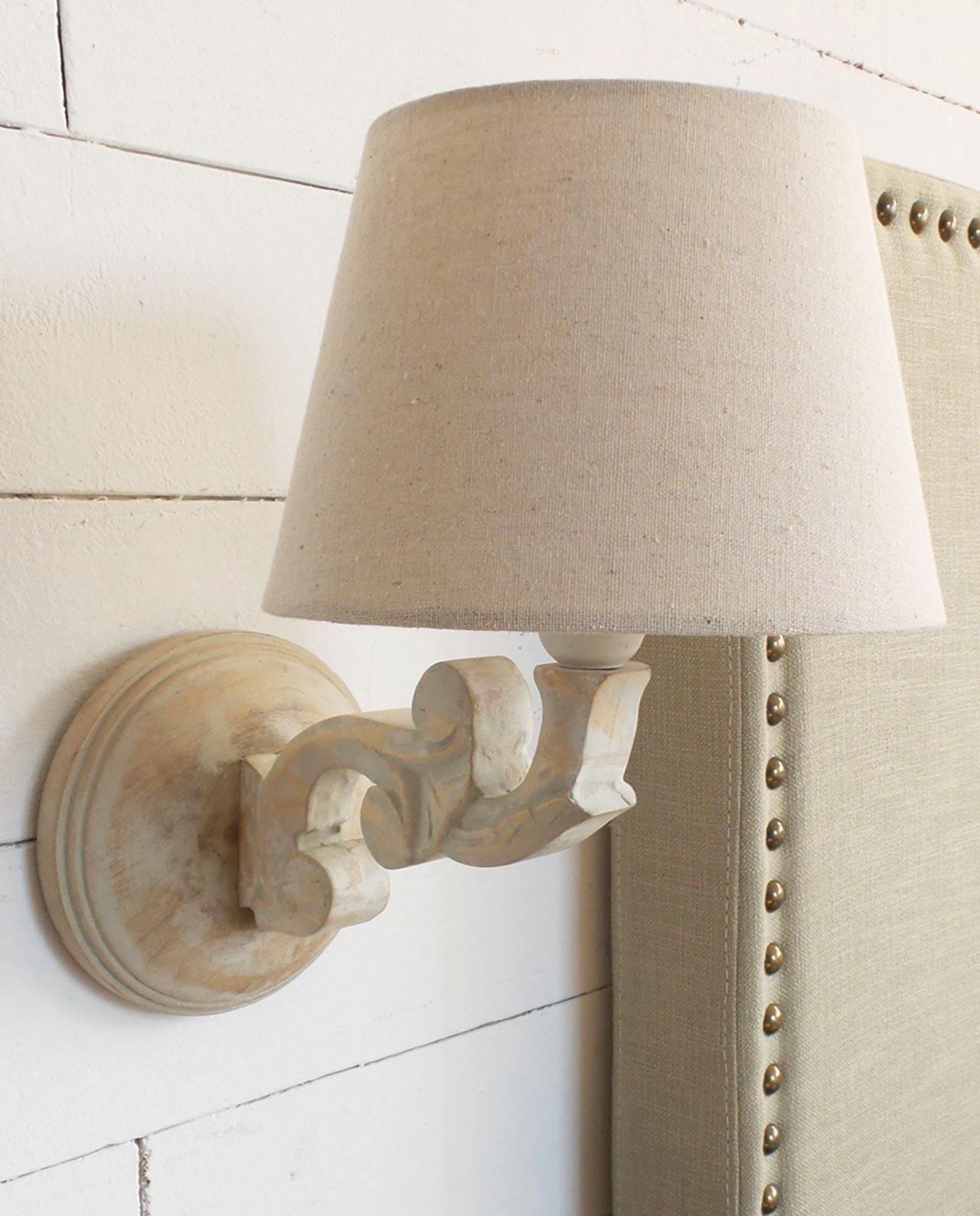 lampade da parete applique legno set 2 pezzi mobilia