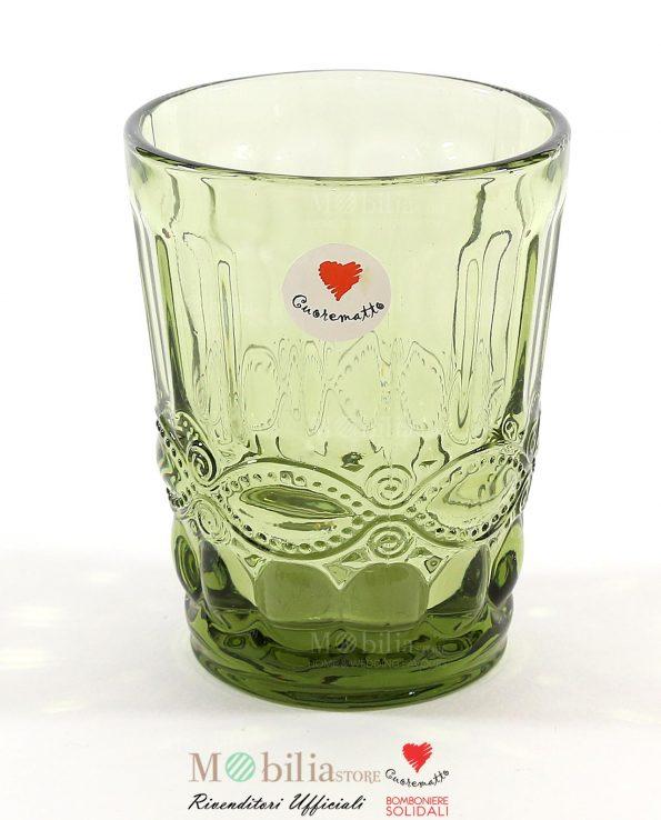 Bomboniere Matrimonio Utili Set 6 Bicchieri Acqua Cuorematto
