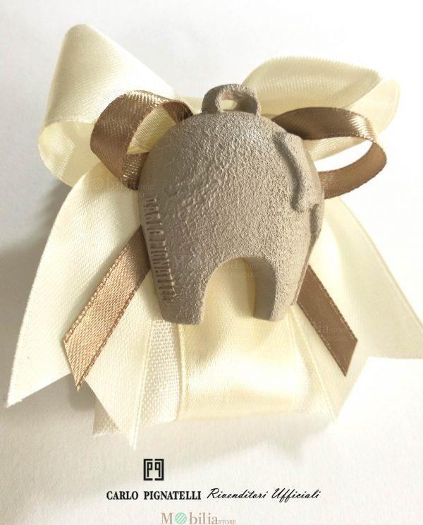 Sacchetti Bomboniere con Ciondolo Elefante Carlo Pignatelli