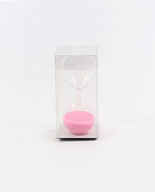 clessidra piccola rosa con scatola