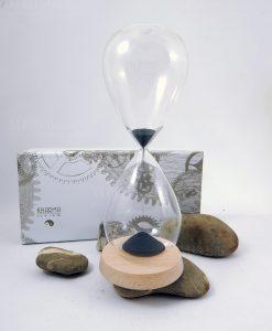 clessidra vetro piccola con scatola karma living