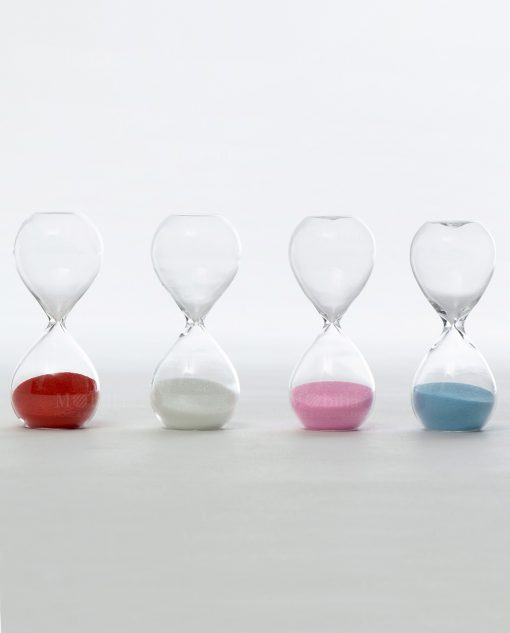 clessidre in vetro 3 minuti ad emozioni