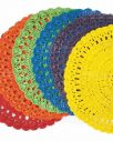 Tovagliette colorate uncinetto villa d'este in promozione online su Mobilia Store.