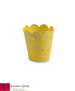 portabicchieri giallo
