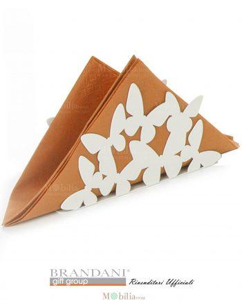 Portatovaglioli Metallo con Farfalle Aria Brandani