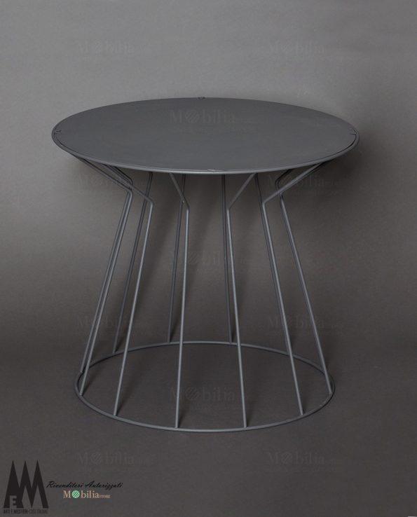 Tavolino Moderno Rotondo Arti e Mestieri