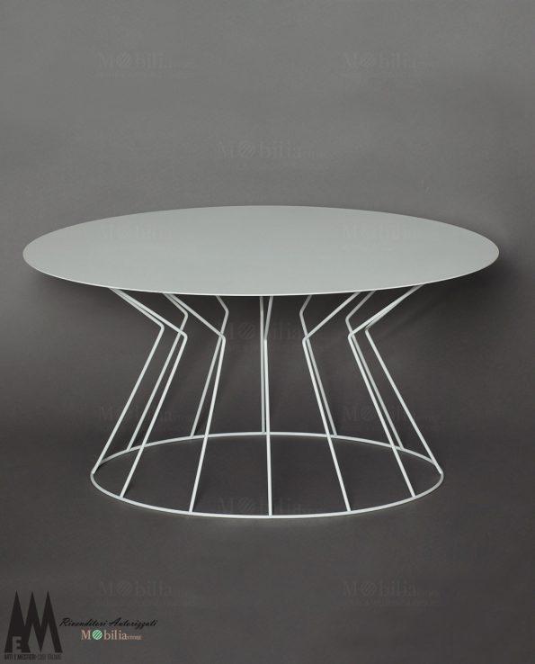 Tavolo Ovale Bianco Arti e Mestieri