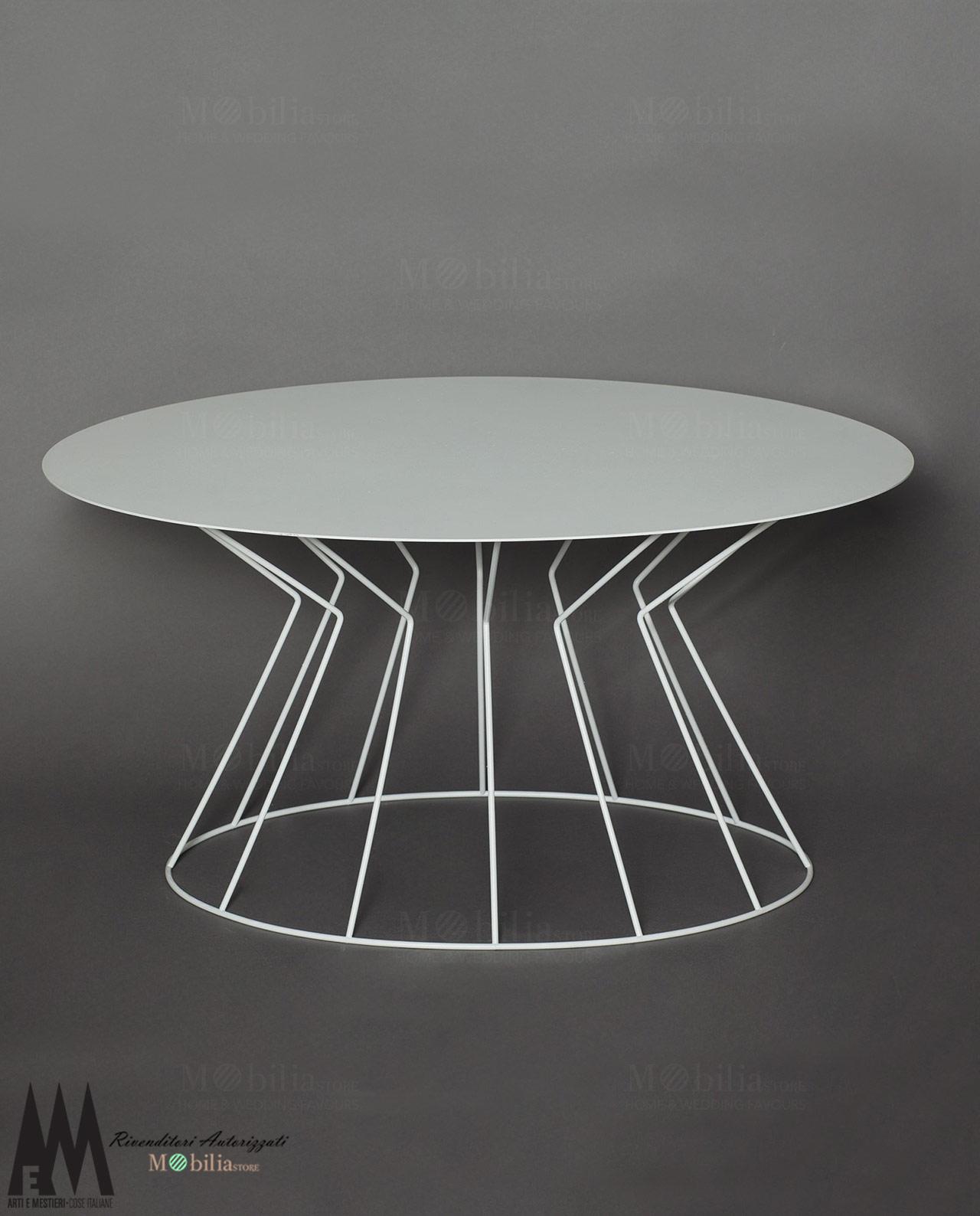 Tavolo ovale bianco arti e mestieri in promozione online for Tavolo ovale bianco design