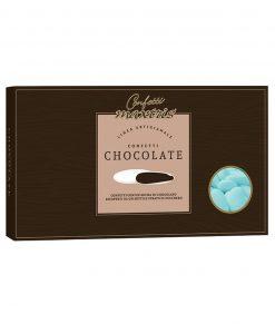 Confetti maxtris cioccolato fondente classico azzurro