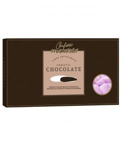 Confetti maxtris cioccolato fondente classico rosa