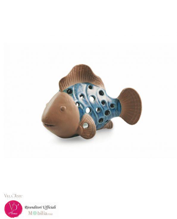 Pesci Ceramica Portacandela Villa d'Este
