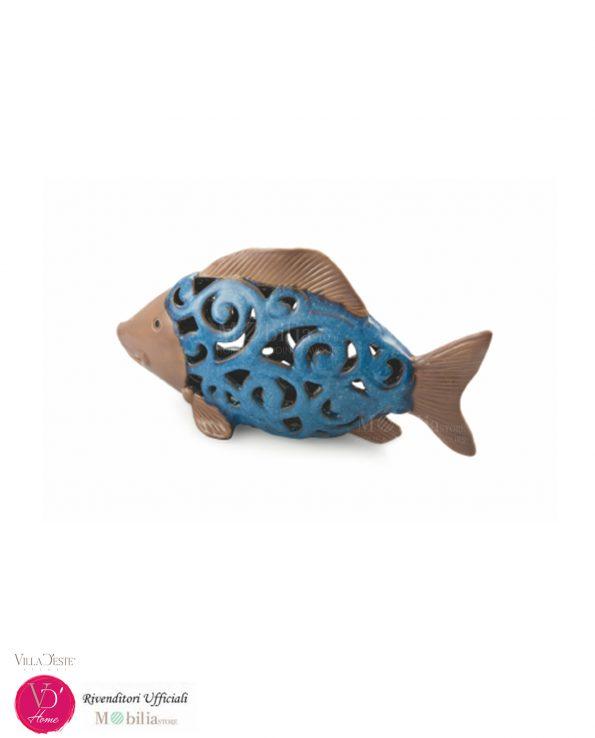Portacandele Pesce Decorativo Villa d'Este