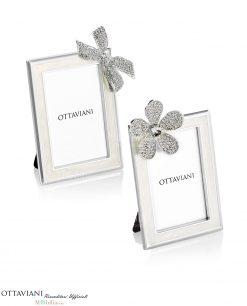 Portafoto piccoli con fiocco o fiore