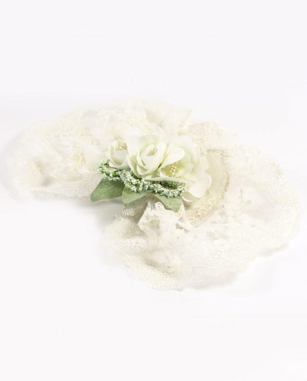 Sacchettini Matrimonio con Fiori e Pizzo Rdm Design