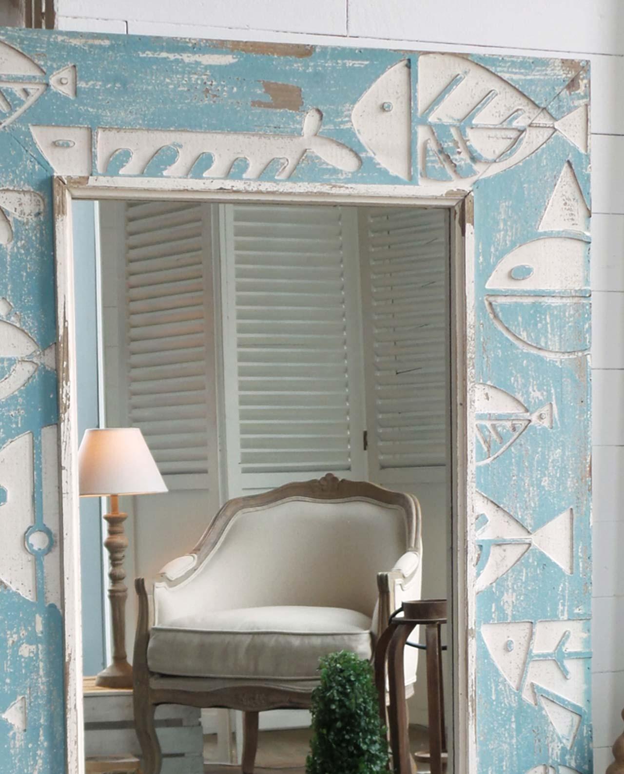 Specchio tema mare mobilia store home favours - Specchio arredo casa ...