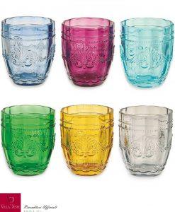 bicchieri acqua assortiti