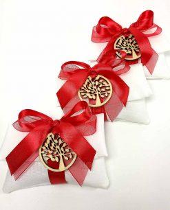 bomboniere laurea sacchettini portaconfetti con cioncoli albero della vita