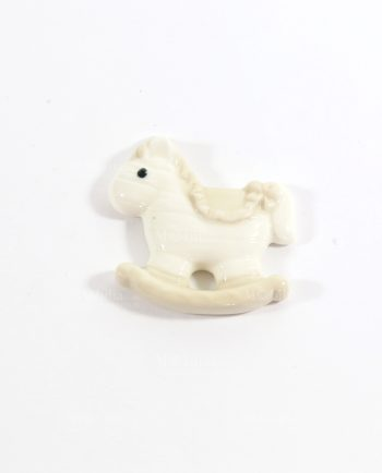 Cavallo Dondolo Porcellana con Calamita