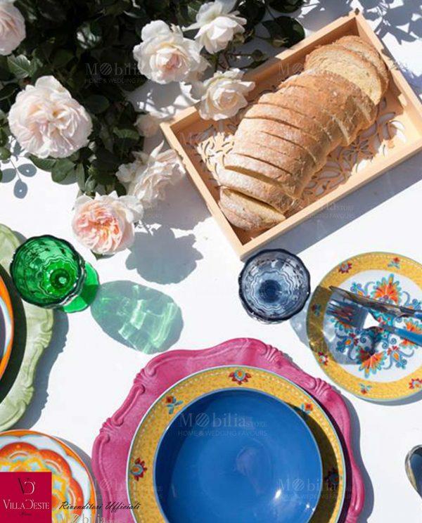 Bicchieri Vino Colorati Syrah Villa d'Este