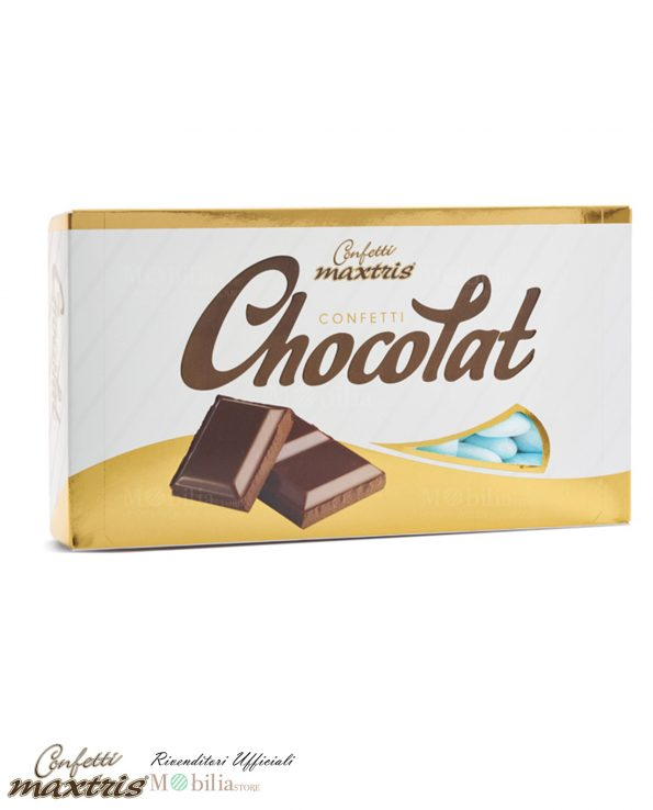 Confettata Battesimo Maschio al Cioccolato Maxtris