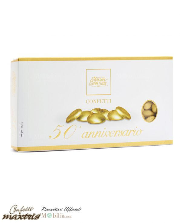 Confetti Nozze d'Oro alla Mandorla Maxtris
