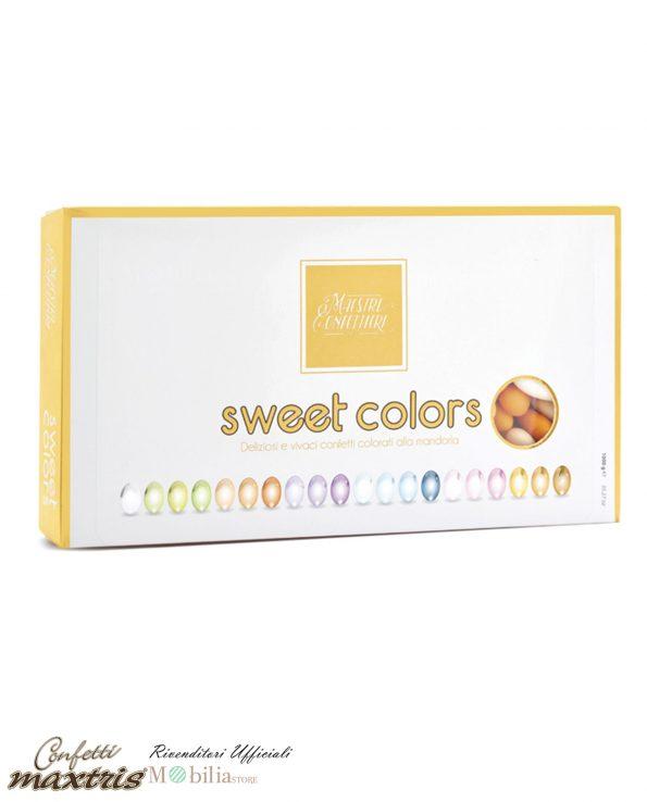 Confetti Mandorla Sfumati Arancio Maxtris