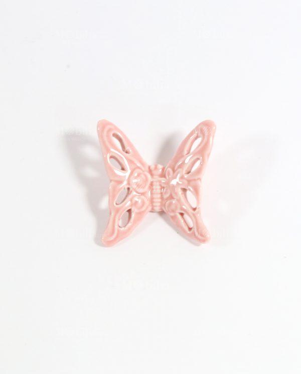 Farfalle Ceramica Traforate Vari Colori