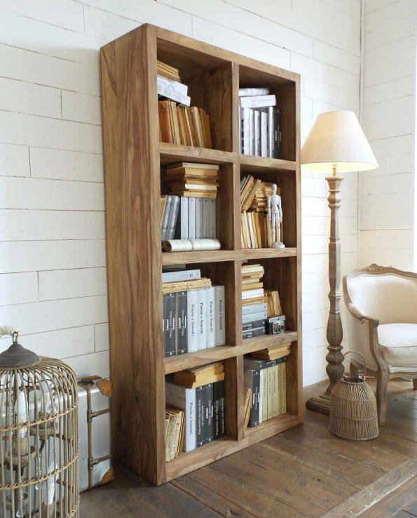 Mobile libreria aperta in legno di palissandro for Mobile libreria in offerta