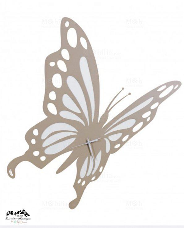 Orologio da Parete Grande Farfalla Arti e Mestieri