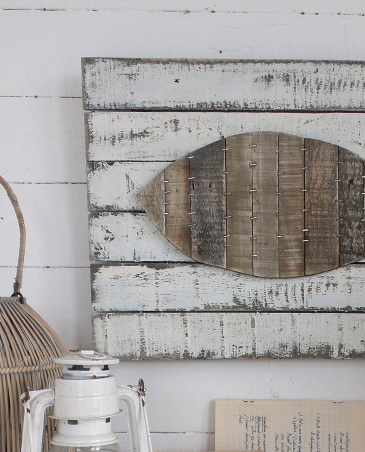 Pannelli decorativi da parete vintage pesce - Pannelli da parete decorativi ...