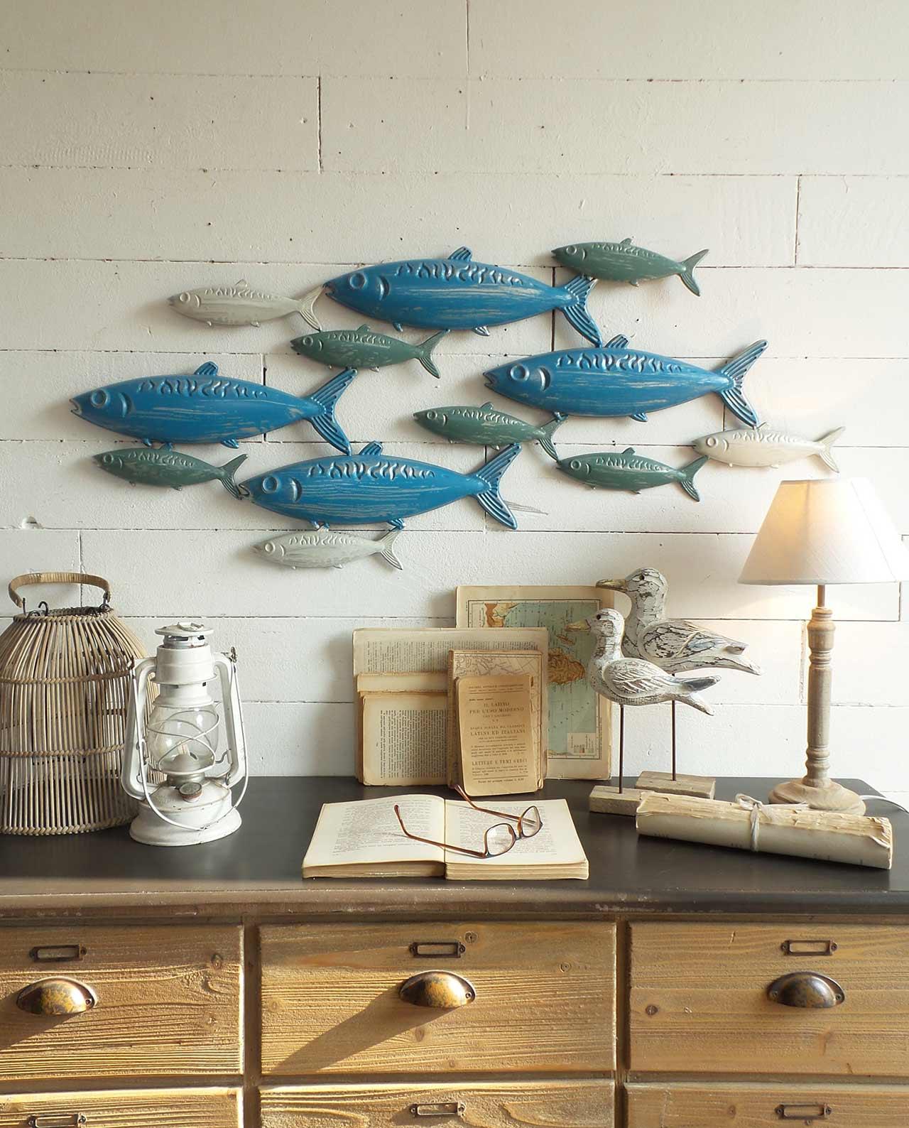 Pannelli parete decorativi con pesci for Pannelli da parete decorativi