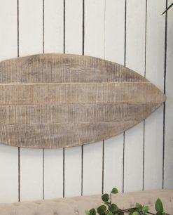 pannello in legno a forma di pesce