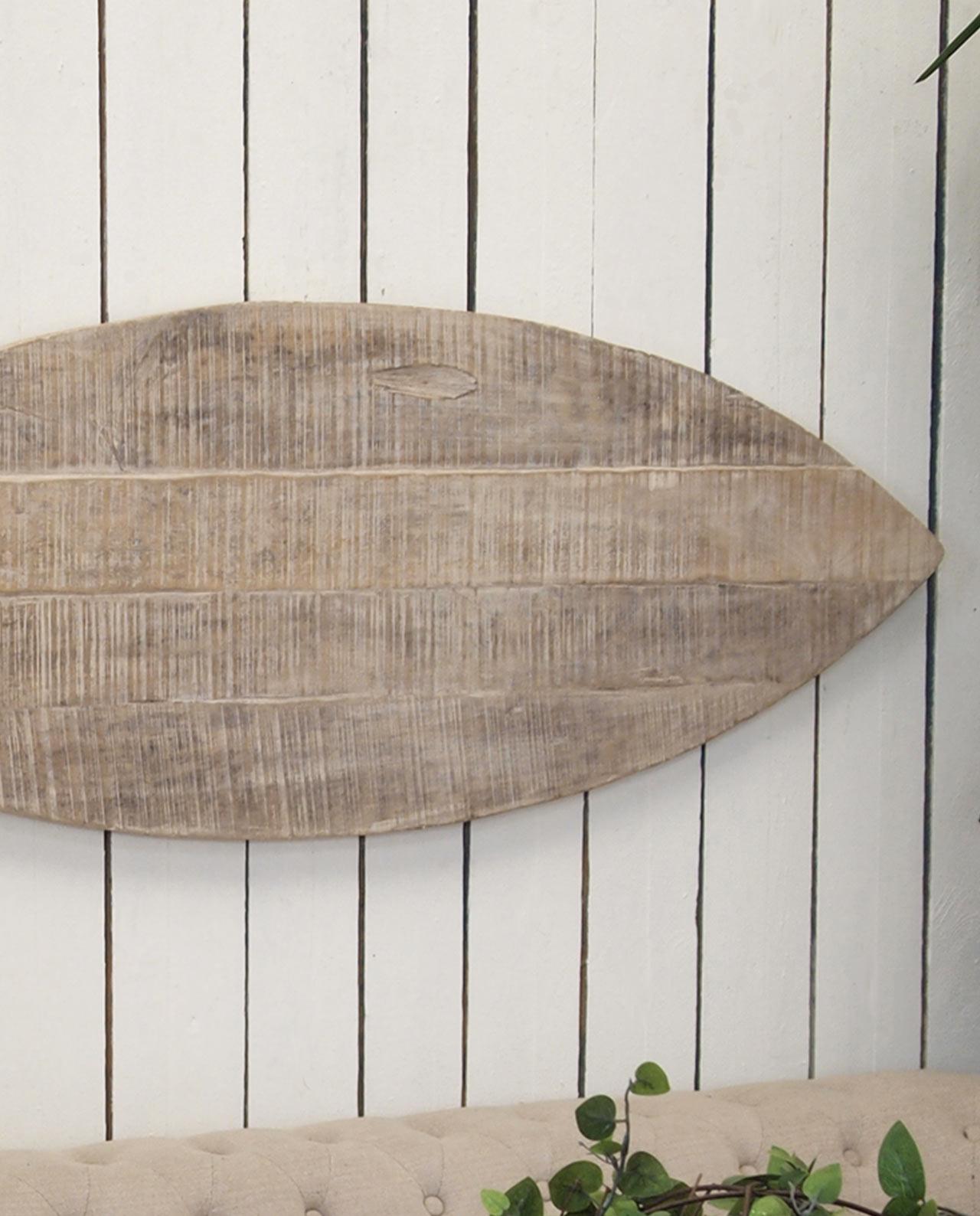 Decorare le pareti pannelli legno a forma di pesce - Pannello decorativo parete ...