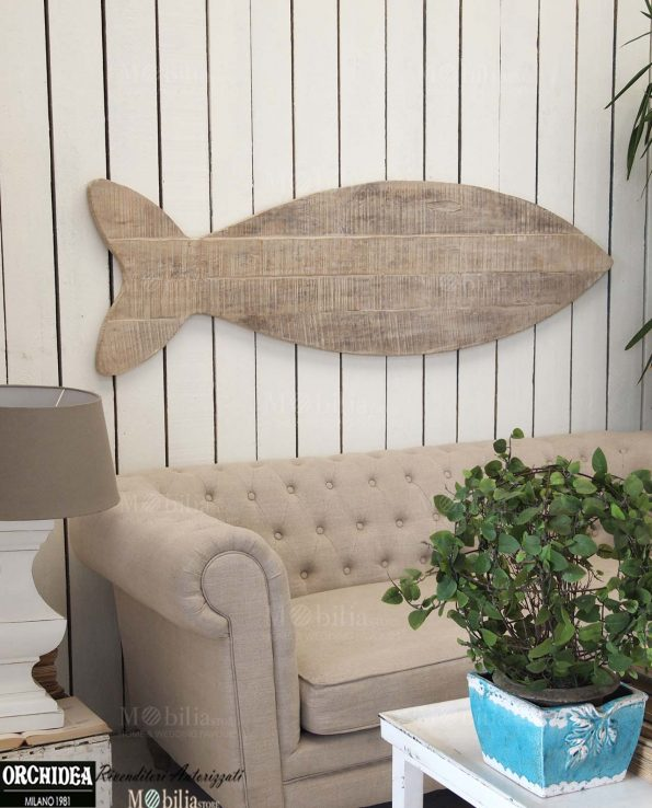 Pannelli decorativi da parete legno pesce for Pannelli da parete