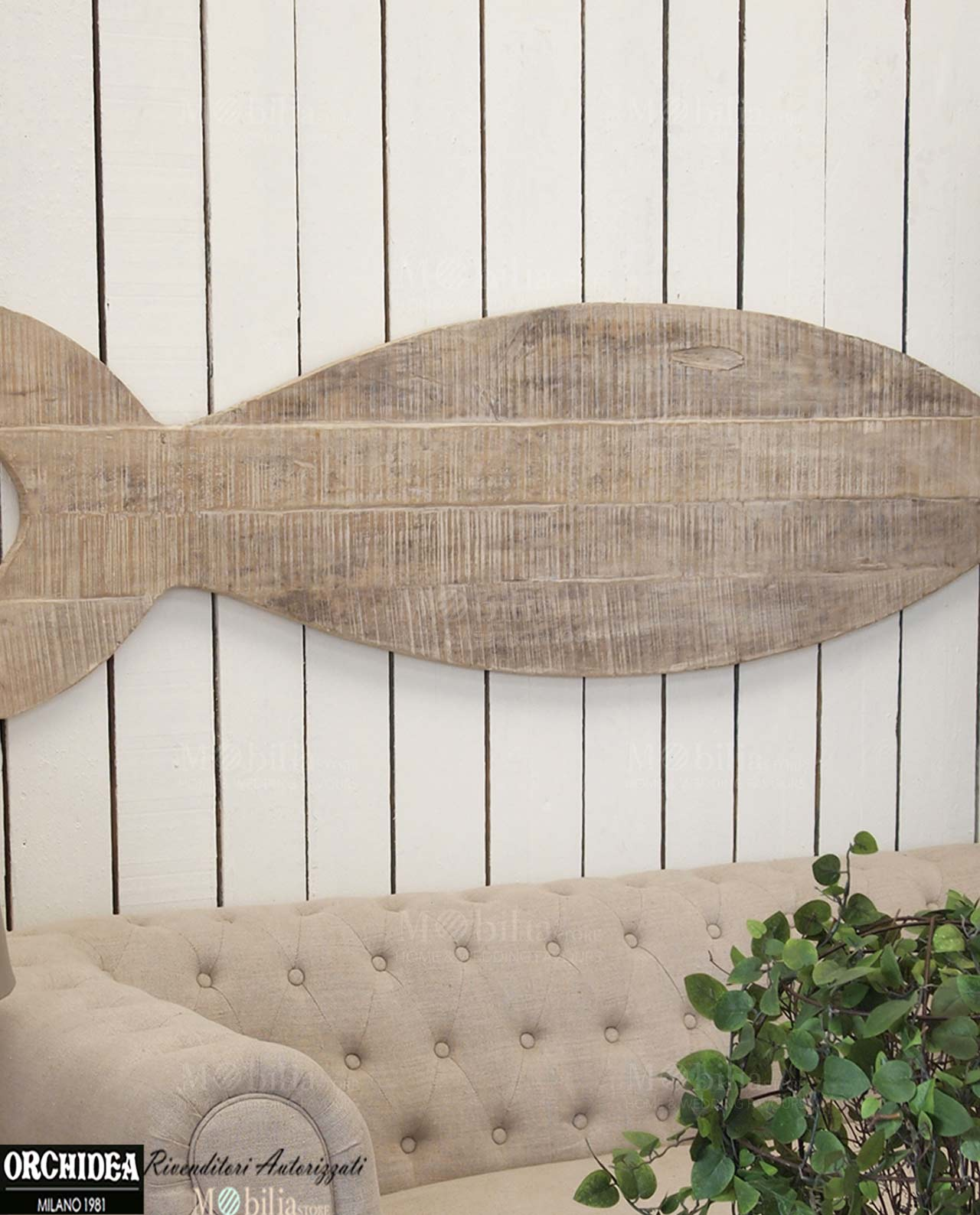 Pannelli decorativi da parete legno pesce for Pannelli decorativi da cucina