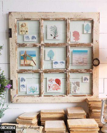 Pannello decorativo portafoto con pesce - Pannello decorativo parete ...