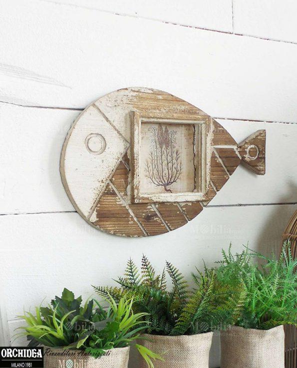 Pannello Portafoto Decorativo con Pesce