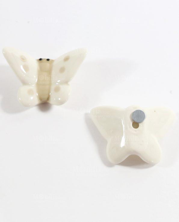 Calamite per Bomboniere Farfalle Tortora