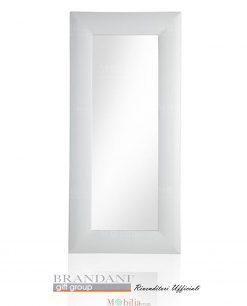 specchio bianco opaco brandani