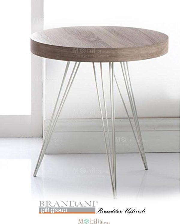 Tavolino Basic Moderno Legno Brandani
