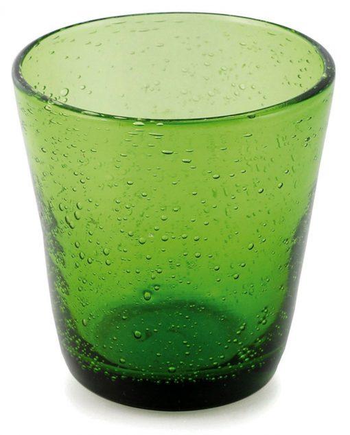 Bicchiere acqua verde villa deste