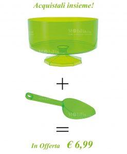 Contenitori per confettata con sassola Verdi