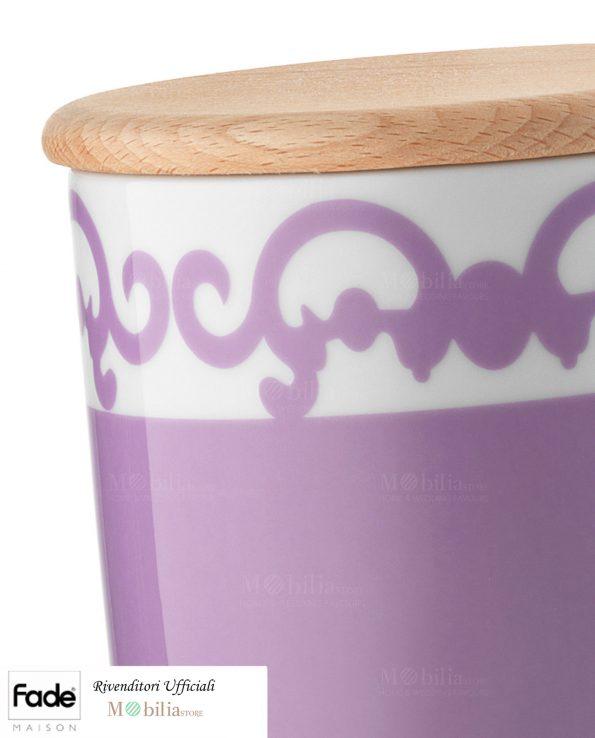 Barattoli da Cucina Porcellana Arabesco Fade