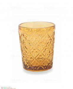 bicchieri acqua marrakech arancione
